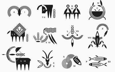 Zodiac Signs by Vacaliebres